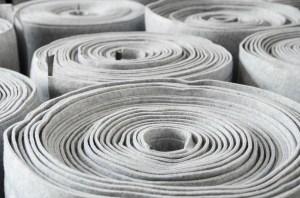 White Fabric Bolt